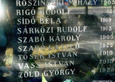 Dunaszerdahely-Sikabony világháborús emlékmű 2014.06.20. küldő-Méri (6)