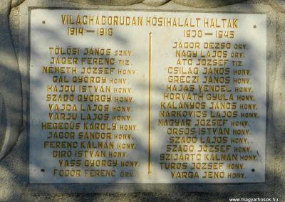 Edde világháborús emlékmű 2014.06.13. küldő-Huber Csabáné (1)