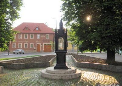 Eger II.vh emlékmű 2007.05.31. küldő-kalyhas