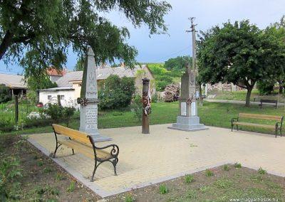 Egerszólát hősi emlékmű felújítás után 2014.07.14. küldő-kalyhas (14)