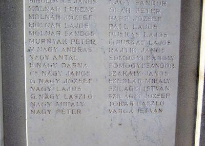 Encsencs világháborús emlékmű 2013.10.11. küldő-kalyhas (11)