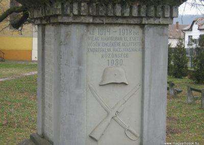 Endrefalva világháborús emlékmű 2009.03.25.küldő-Mónika39-né (2)