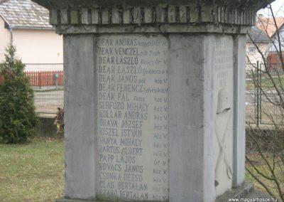Endrefalva világháborús emlékmű 2009.03.25.küldő-Mónika39-né (4)