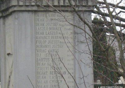 Endrefalva világháborús emlékmű 2009.03.25.küldő-Mónika39-né (5)