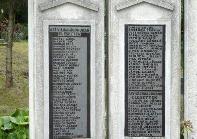 Erdőbénye világháborús emlékmű 2010.08.21. küldő-Sümec (2)