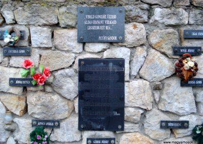 Erdőhorváti világháborús emlékmű 2011.12.14. küldő-megtorló (4)