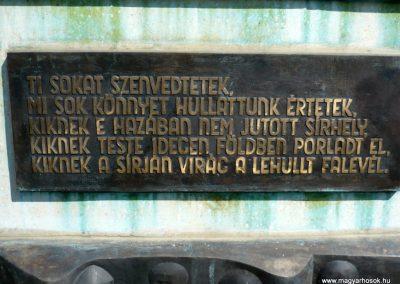 Eszteregnye világháborús emlékmű 2010.07.14. küldő-Sümec (6)