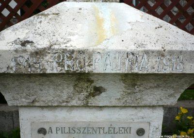 Esztergom-Pilisszentlélek I.vh emlékmű 2010.06.26. küldő-Sümec (2)