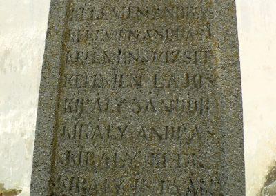Etéd I. világháborús emlékmű 2014.07.20. küldő-Gombóc Arthur (5)