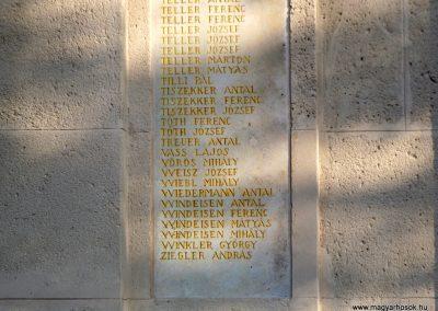 Etyek I. világháborús emlékmű felújítás után 2019.03.23. köldő-Bóta Sándor (11)