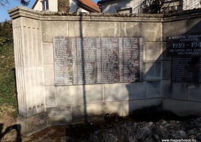 Etyek II. világháborús emlékmű 2019.03.23. küldő-Bóta Sándor (2)