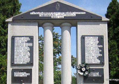Fábiánháza II. világháborús emlékmű 2014.08.04. küldő-kalyhas (3)