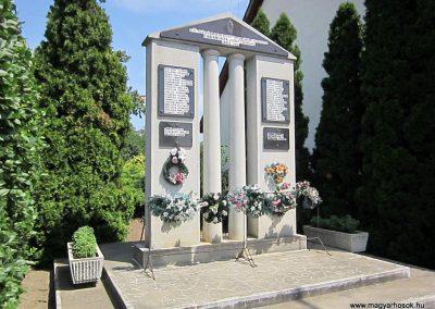 Fábiánháza II. világháborús emlékmű 2014.08.04. küldő-kalyhas