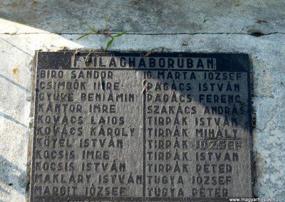 Fényeslitke világháborús emlékmű 2010.07.03. küldő-Ágca (5)