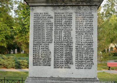 Földeák világháborús emlékmű 2014.05.24. küldő-Sümec (9)