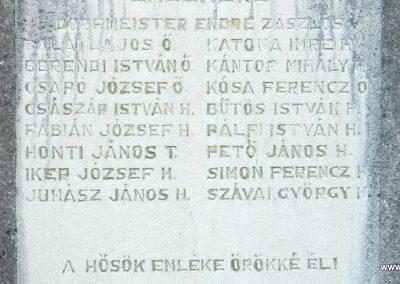 Fürged II. világháborús emlékmű 2014.10.19. küldő-Huber Csabáné (2)