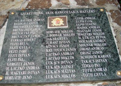 Füzér világháborús emlékművek 2011.08.09. küldő-megtorló (4)