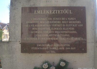 Füzesgyarmat világháborús emlékmű 2008.04.14.küldő- egy magyar anya (1)
