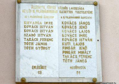 Főnyed világháborús emléktábla 2014.08.31. küldő-Huber Csabáné (2)