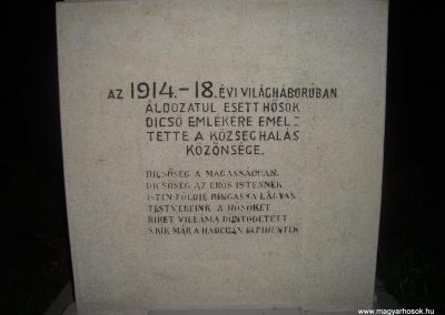Farád I.vh emlékmű 2008.09.14.felújitás után küldő-Huszár Peti (1)