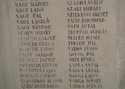 Farád I.vh emlékmű 2008.09.14.felújitás után küldő-Huszár Peti (2)