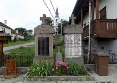Farkaslaka világháborús emlékművek 2016.07.15. küldő-kalyhas