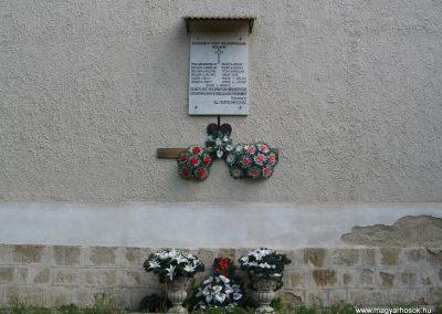 Fedémes II.vh emléktábla 2009.05.02.küldő-kalyhas