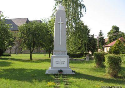 Feldebrő I.vh emlékmű 2007.06.11. küldő-kalyhas