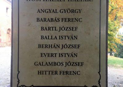 Felsőörs I. világháborús emlékmű 2018.10.08. küldő-Császár Erzsébet (3)