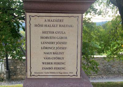 Felsőörs I. világháborús emlékmű 2018.10.08. küldő-Császár Erzsébet (4)