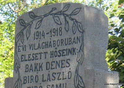 Felsőboldogfalva világháborús emlékmű 2011.09.22. küldő-Mónika39 (1)