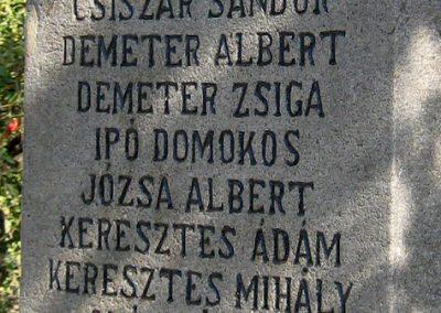 Felsőboldogfalva világháborús emlékmű 2011.09.22. küldő-Mónika39 (2)