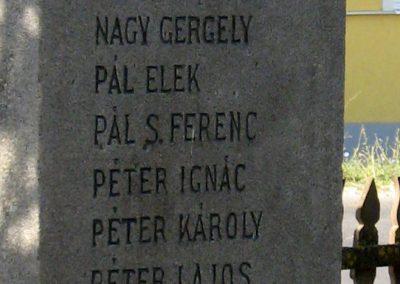 Felsőboldogfalva világháborús emlékmű 2011.09.22. küldő-Mónika39 (5)