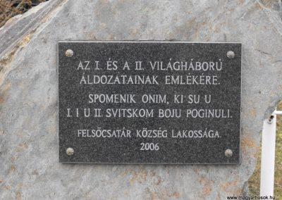 Felsőcsatár világháborús emlékmű 2009.01.13.küldő-gyurkusz (2)