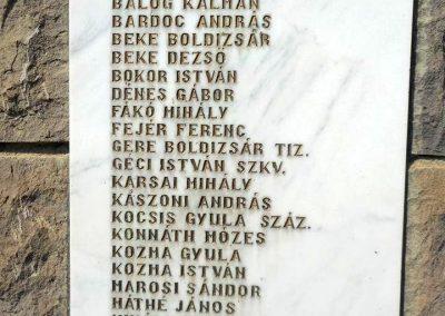 Felsőcsernáton világháborús emlékmű 2018.08.26. küldő-Fehér Mónika (6)