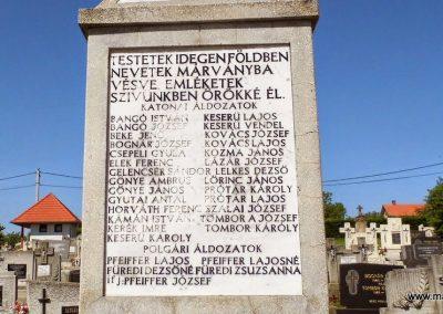 Felsőpáhok világháborús emlékmű 2014.06.09. küldő-Méri (4)