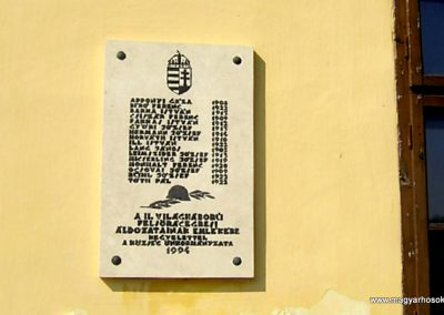 Felsőrácegres II.vh emléktábla 2011.09.18. küldő-Bagoly András (2)