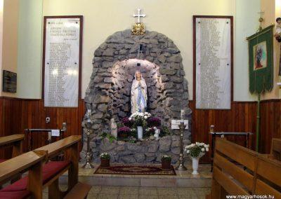 Felsőszeli világháborús emléktáblák a róm.kat. templomban 2010.09.27. küldő-Szabados László