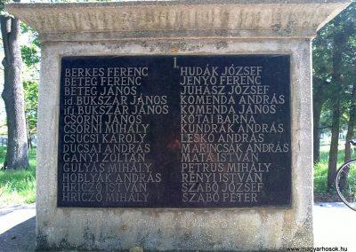 Felsővadász világháborús emlékmű 2013.05.08. küldő-Pataki Tamás (4)