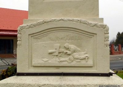 Fertőd, I. és II. világháborús emlékmű
