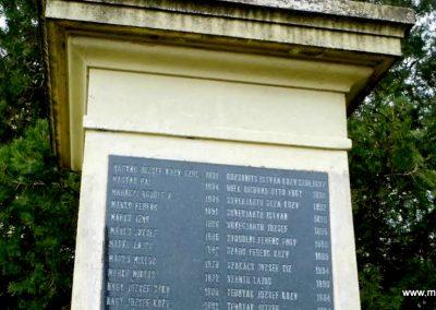 Fertőszentmiklós I. világháborús emlékmű 2013.12.17. küldő-Méri (10)