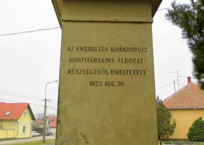 Fertőszentmiklós, I. világháborús emlékmű