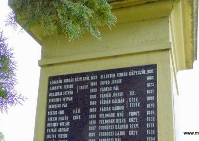 Fertőszentmiklós I. világháborús emlékmű 2013.12.17. küldő-Méri (3)