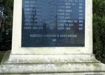 Fertőszentmiklós I. világháborús emlékmű 2013.12.17. küldő-Méri (7)