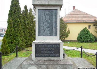 Fertőszentmiklós, II. világháborús emlékmű
