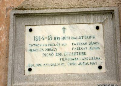 Filkeháza világháborús emléktáblák 2011.08.09. küldő-megtorló (3)