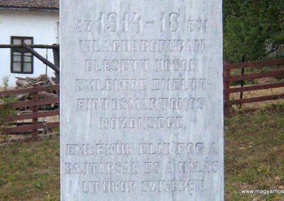 Firtosmartonos világháborús emlékmű 2011.09.20. küldő-Mónika39 (1)