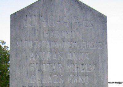 Firtosmartonos világháborús emlékmű 2011.09.20. küldő-Mónika39 (5)
