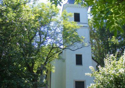 A vérteskozmai templom.