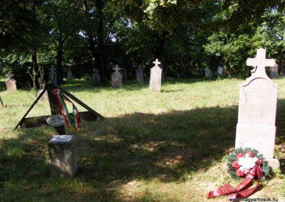 Vérteskozmai temető, II. világháborús